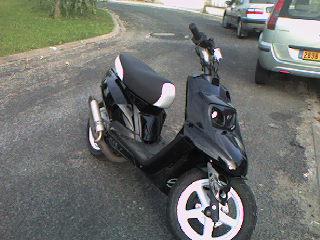 Certificat de vente scooter